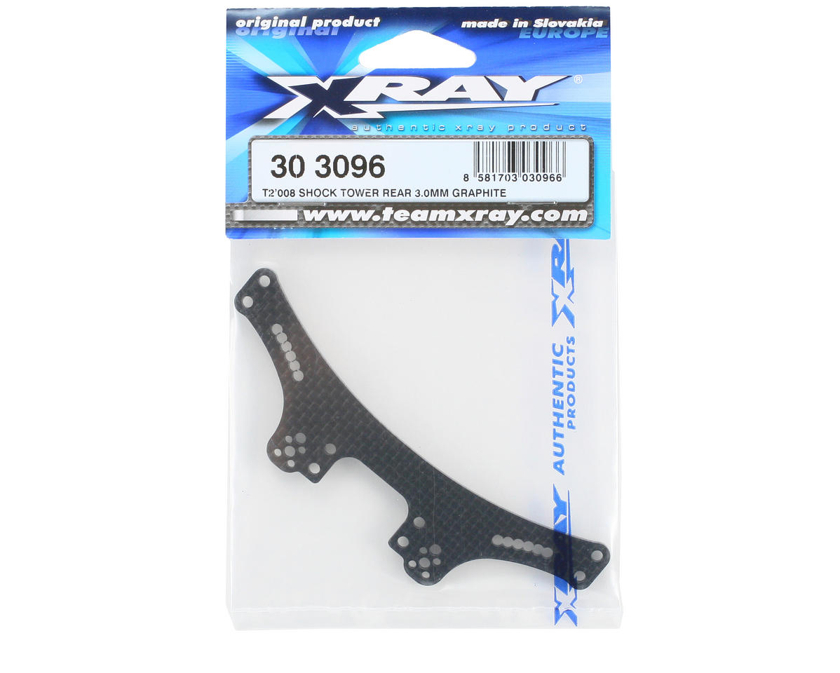 XRAY 3.0mm Graphite Rear Shock Tower (T2 008)