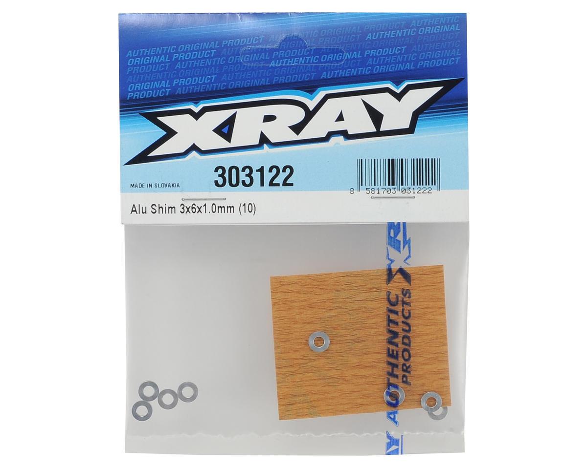 Image 2 for XRAY Aluminum Shim 3x6x1mm (10)