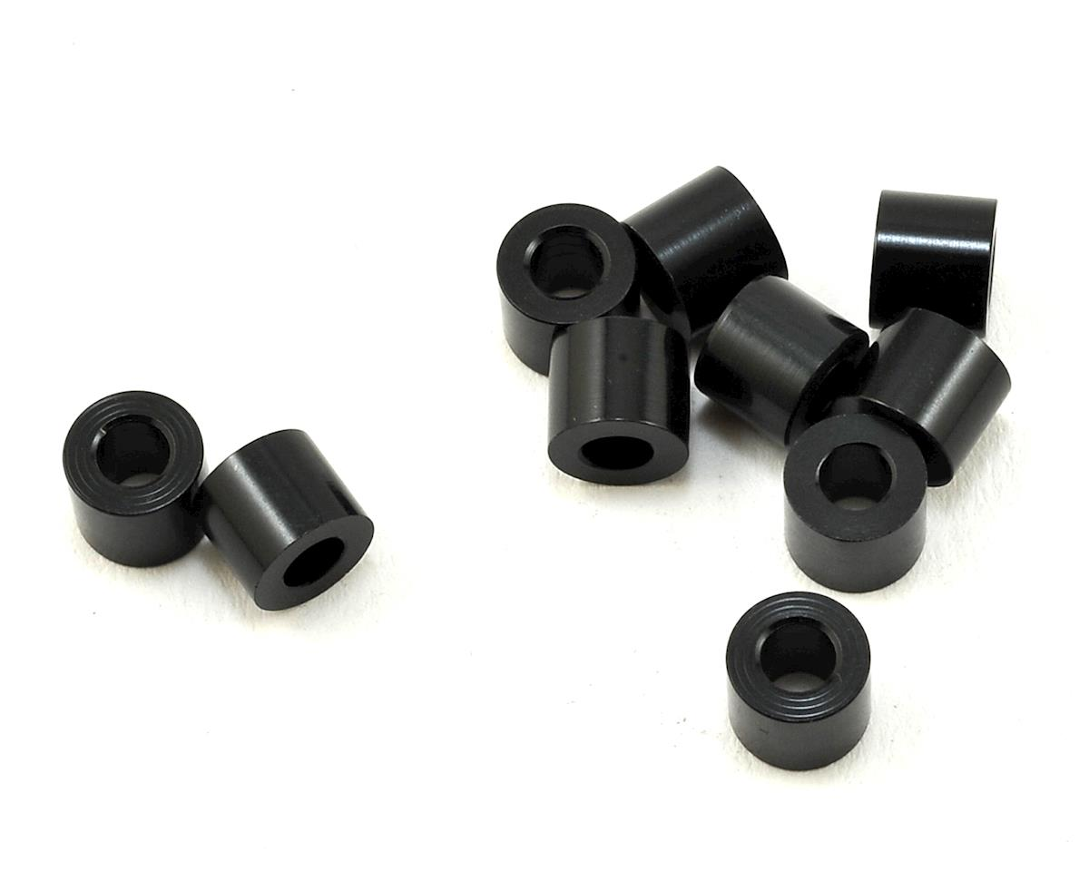 XRAY 3X6X5mm Aluminum Shim (Black) (10)