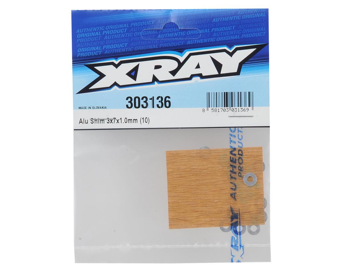 XRAY 3x7x1.0mm Aluminum Shim (10)
