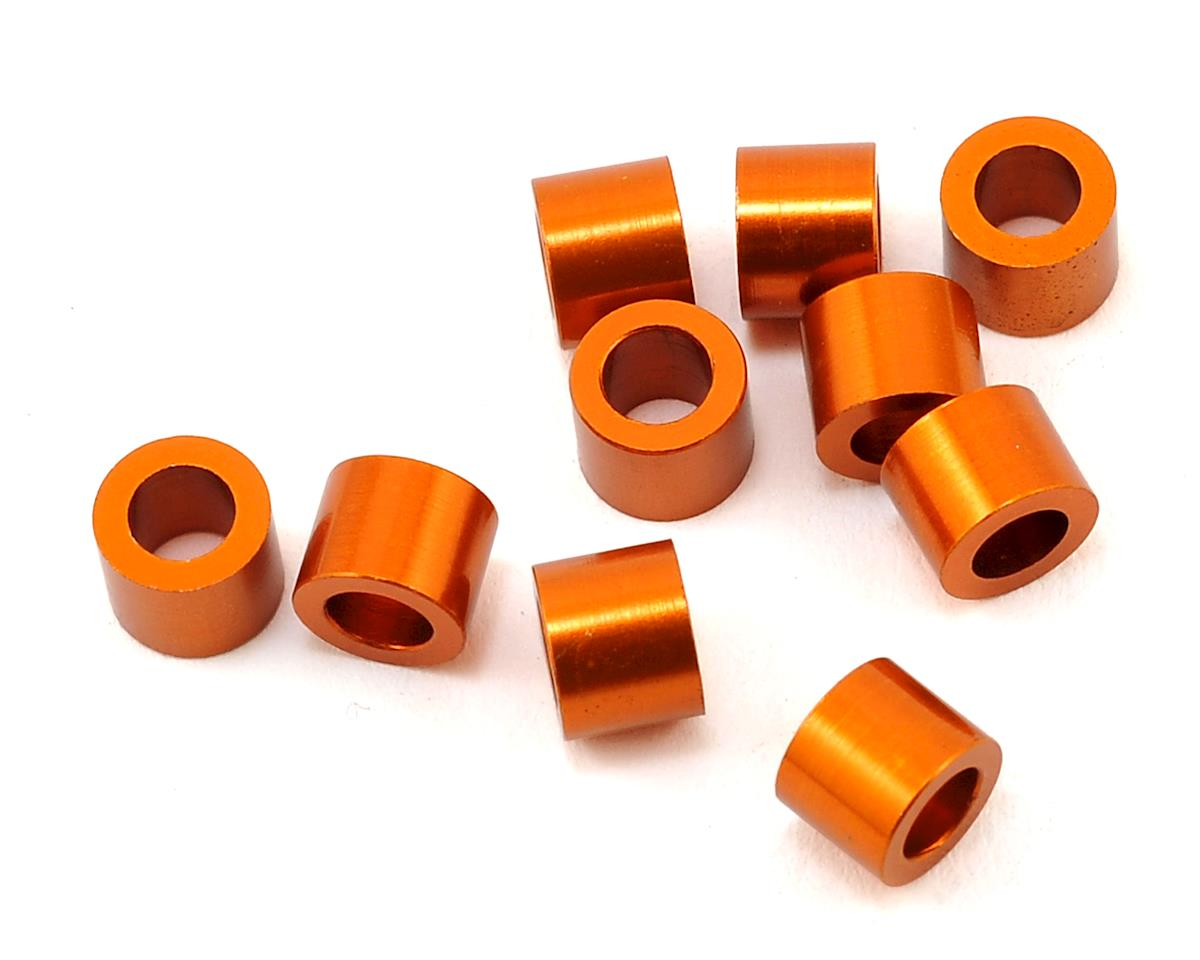 XRAY X10 3x5x4.0mm Aluminum Shim (Orange) (10)