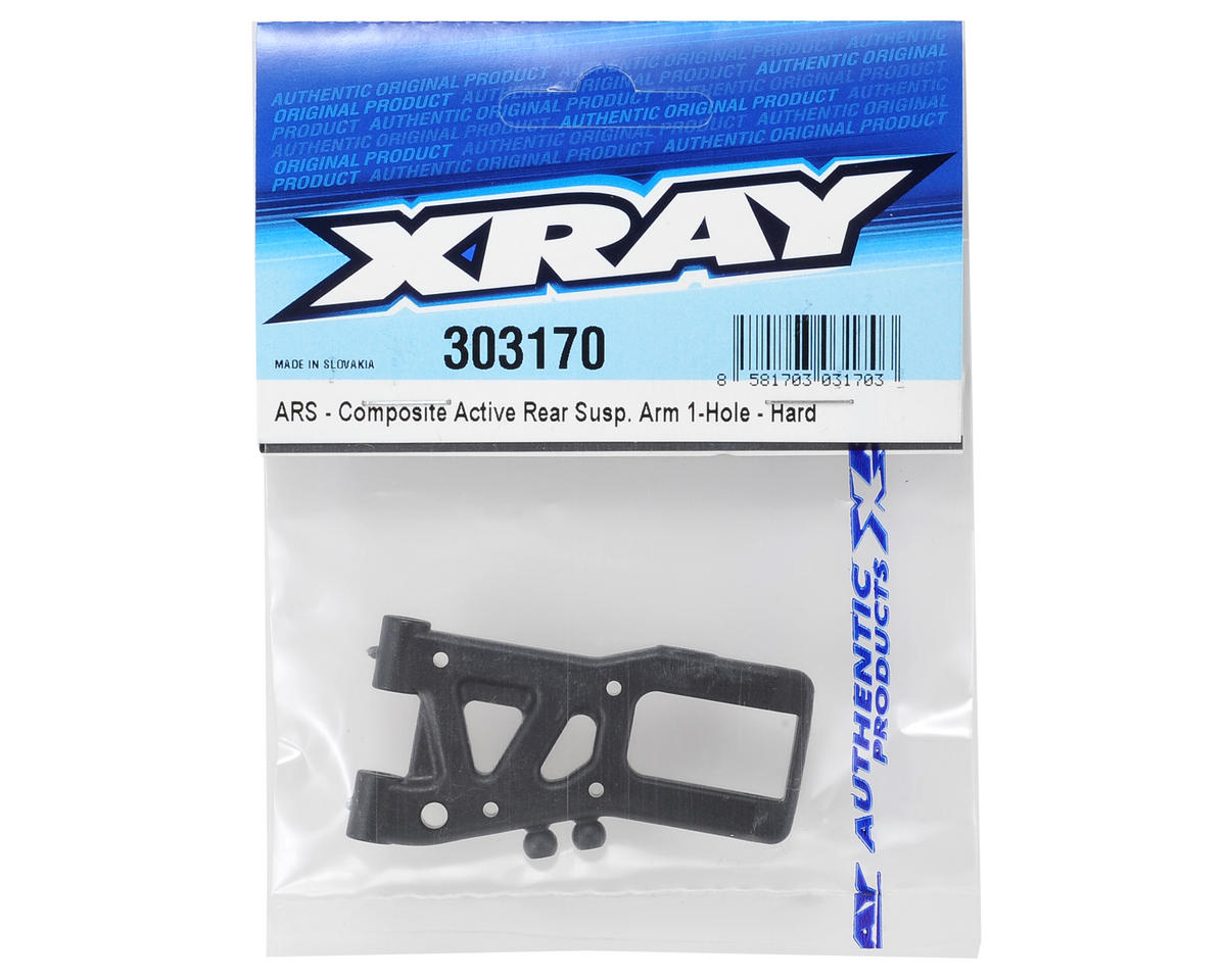 XRAY 1-Hole ARS Rear Suspension Arm (Hard)