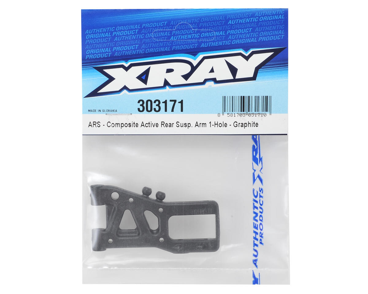 XRAY Graphite 1-Hole ARS Rear Suspension Arm