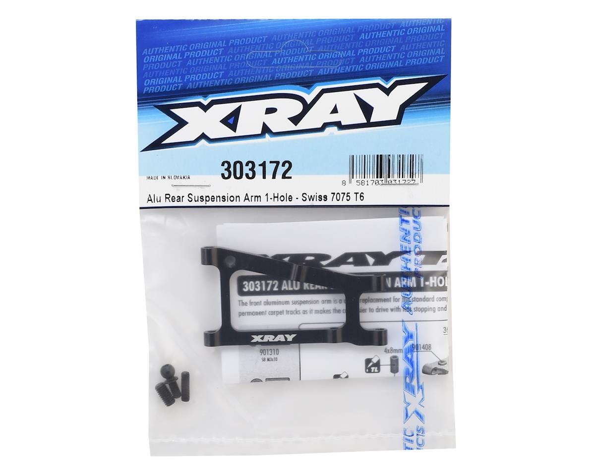 XRAY Aluminum Rear Suspension Arm (1-Hole)