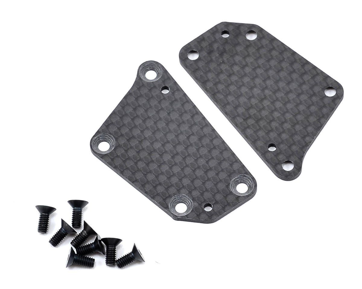 XRAY T4 2014 1.6mm Graphite Rear Lower Arm Plate (2)