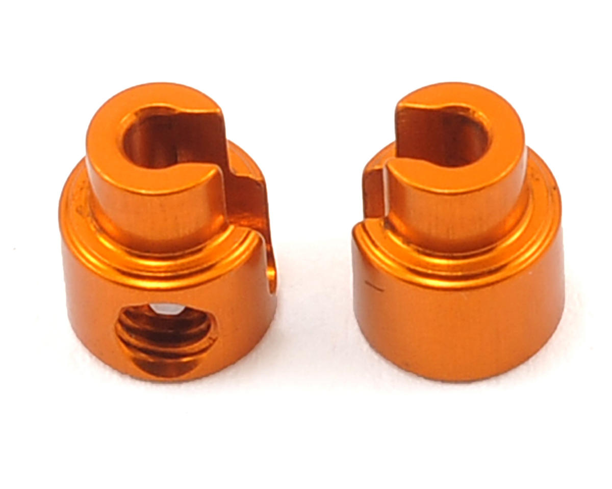 XRAY Aluminum Anti-Roll Bar Bushing (Orange) (2)