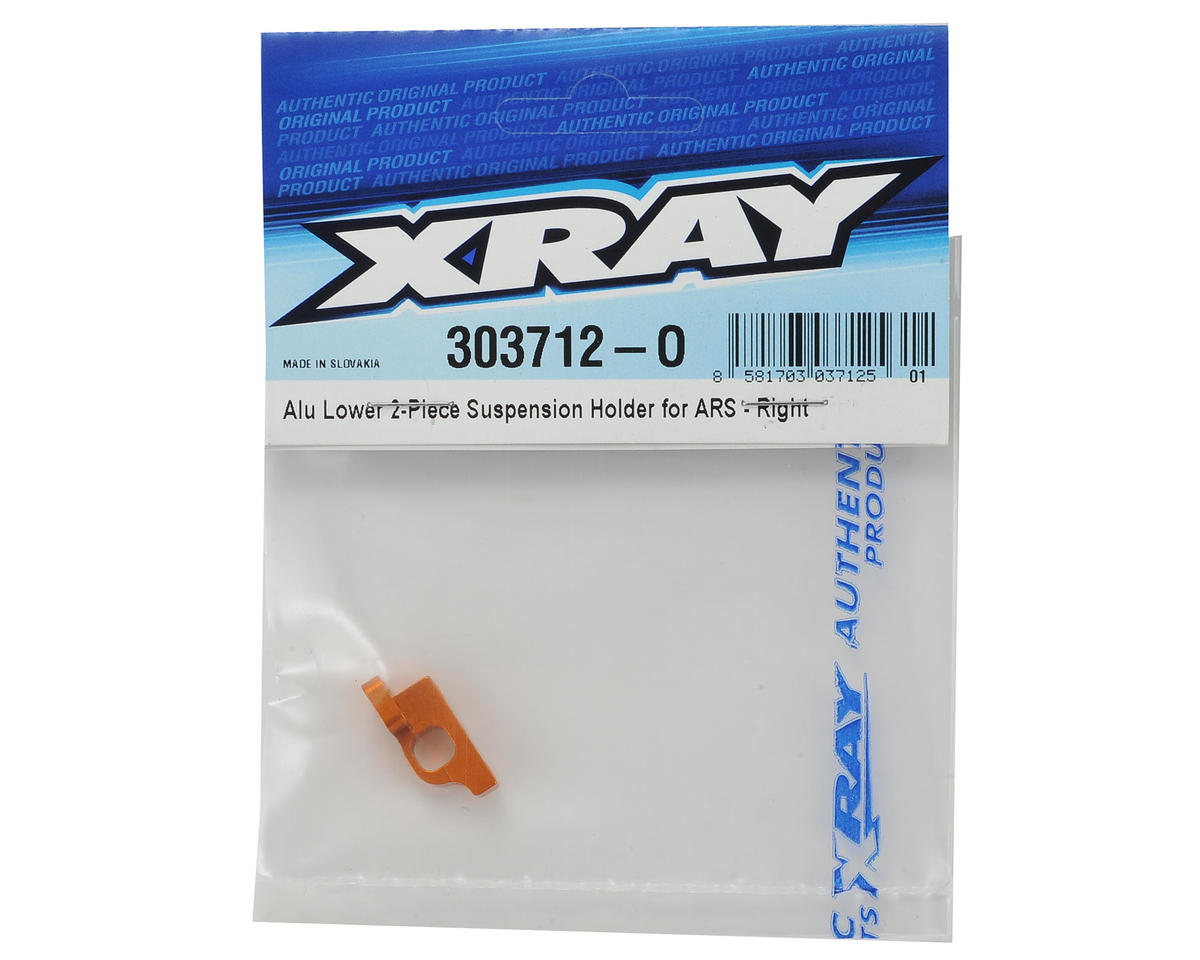 XRAY T4 ARS Aluminum Lower Suspension Holder (Right)