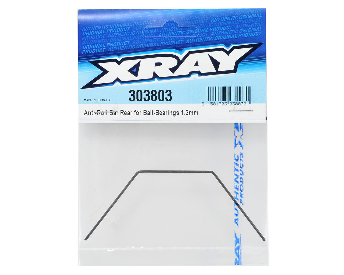 XRAY 1.3mm Bearing Supported Rear Anti-Roll Bar