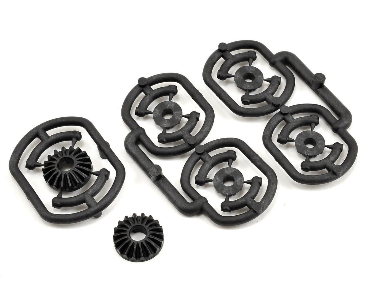 Graphite Gear Differential Bevel & Satellite Gear Set (Low) by XRAY
