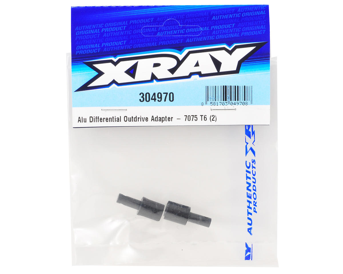 XRAY Aluminum Gear Differential Outdrive Adapter Set (2)