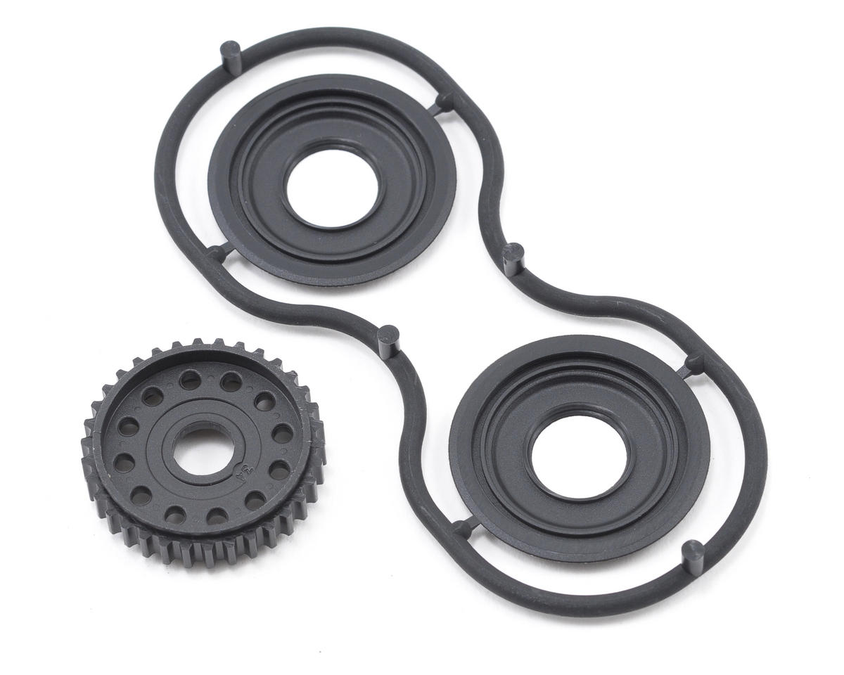 XRAY 34T Differential Pulley w/Labyrinth Dust Cover (T2 008)