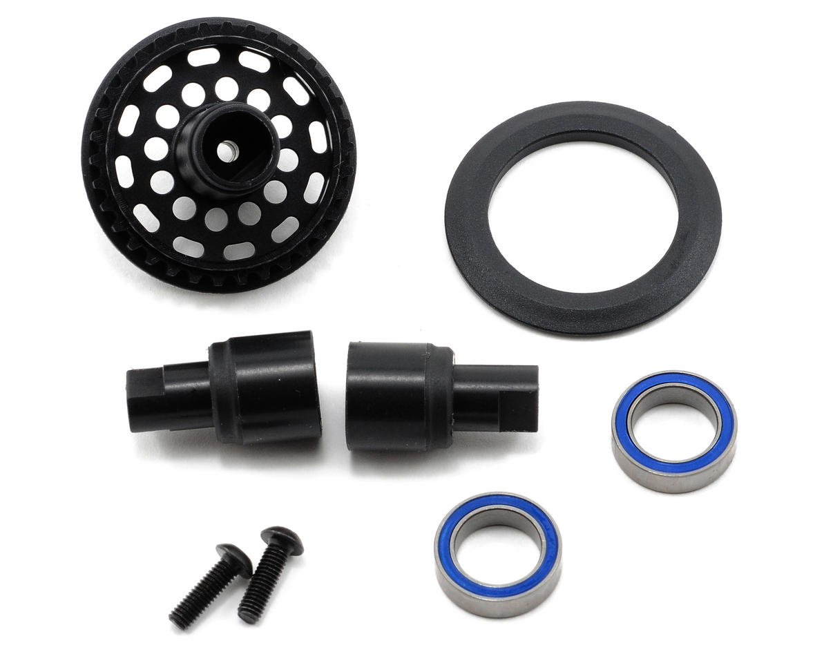 Composite Solid Axle Set (34T) by XRAY