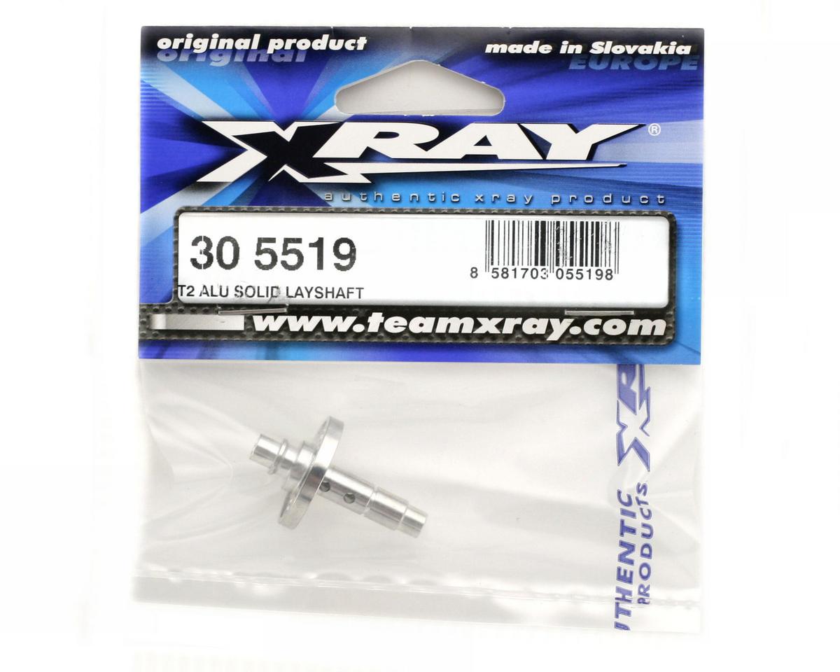 XRAY T2 Aliuminum Solid Layshaft
