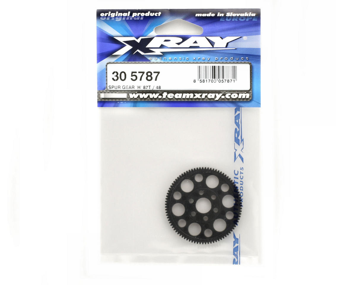 "XRAY 48P Spur Gear ""H"" (87T)"