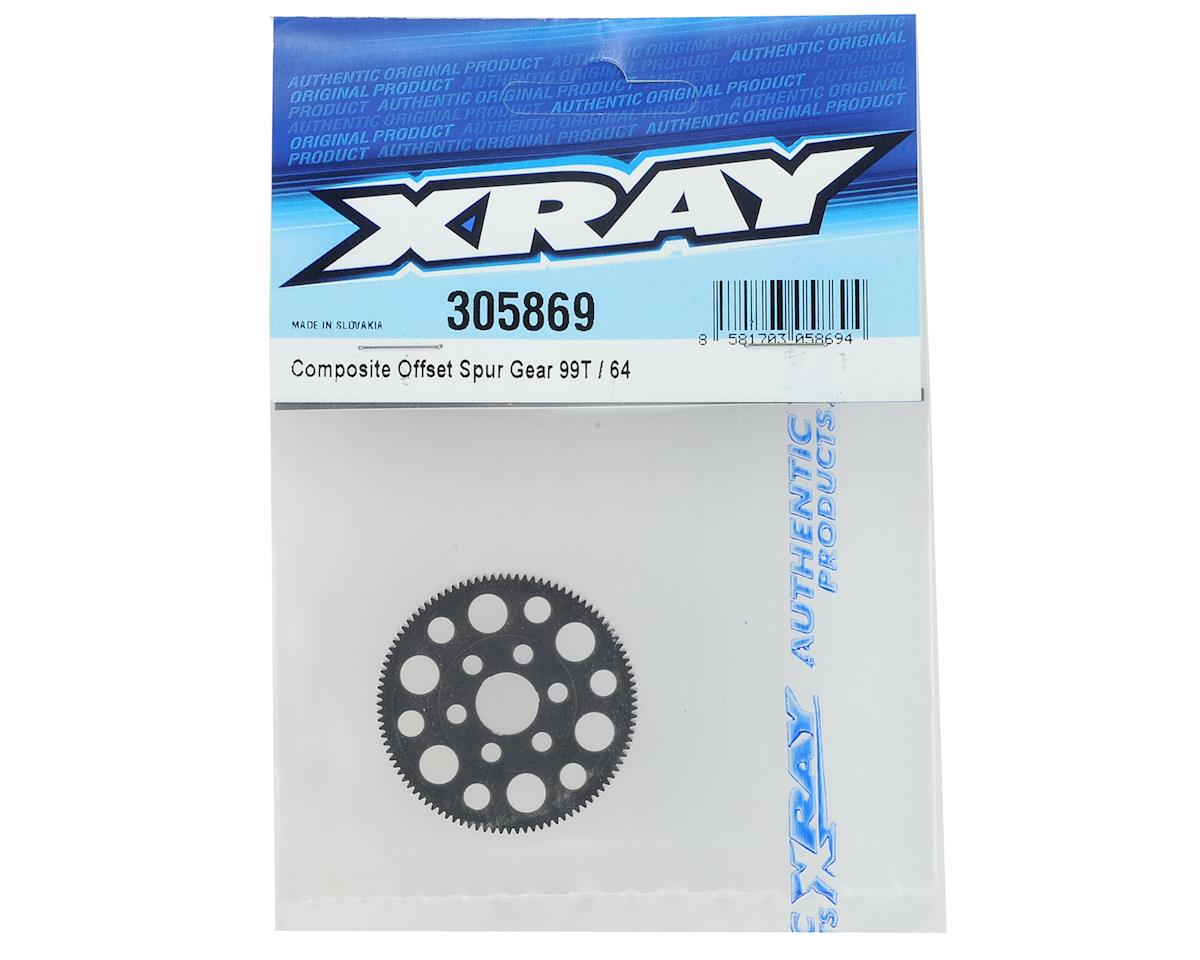XRAY 64P Offset Spur Gear (99T)