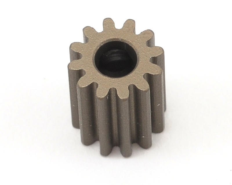XRAY Aluminum 48P Narrow Hard Coated Pinion Gear (3.17mm Bore)