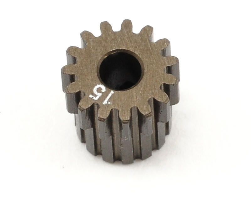XRAY 48P Narrow Hard Coated Aluminum Pinion Gear (15T)