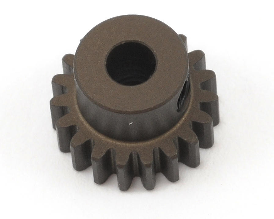 XRAY Aluminum 48P Narrow Hard Coated Pinion Gear (19T)