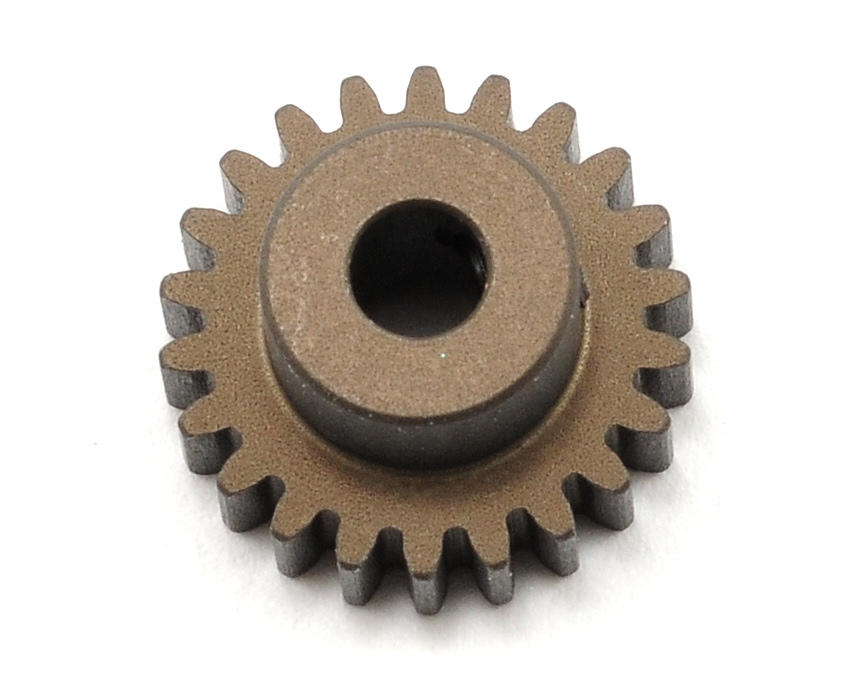 XRAY Aluminum 48P Narrow Hard Coated Pinion Gear (22T)
