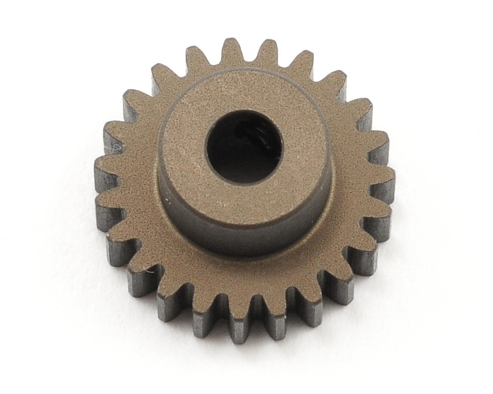 XRAY 48P Narrow Hard Coated Aluminum Pinion Gear (23T)