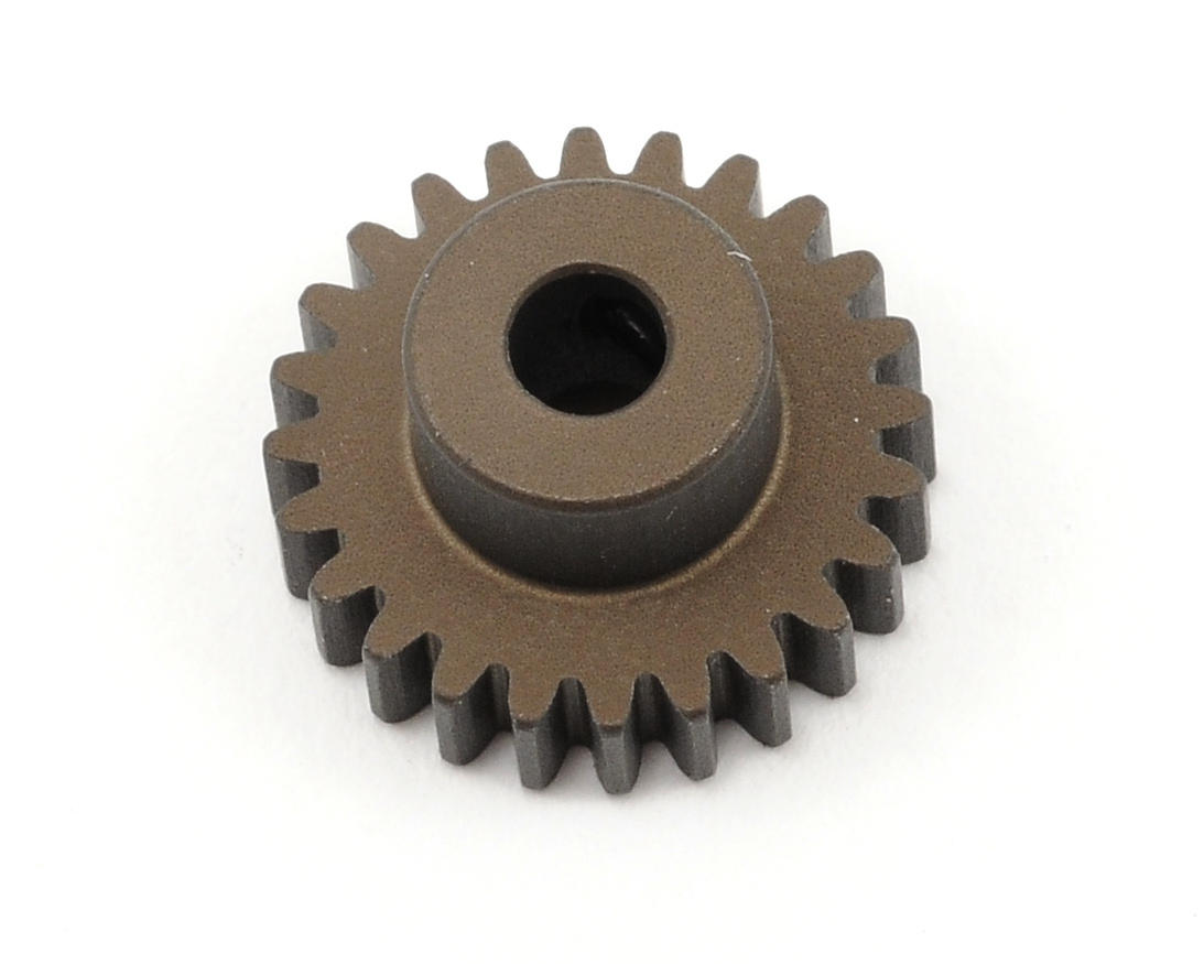 XRAY Aluminum 48P Narrow Hard Coated Pinion Gear (24T)