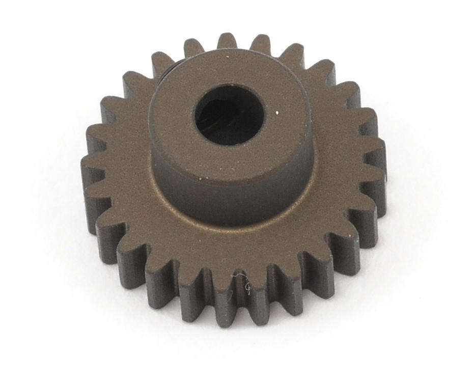 XRAY 48P Narrow Hard Coated Aluminum Pinion Gear (25T)