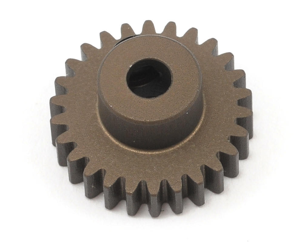 XRAY 48P Narrow Hard Coated Aluminum Pinion Gear (26T)