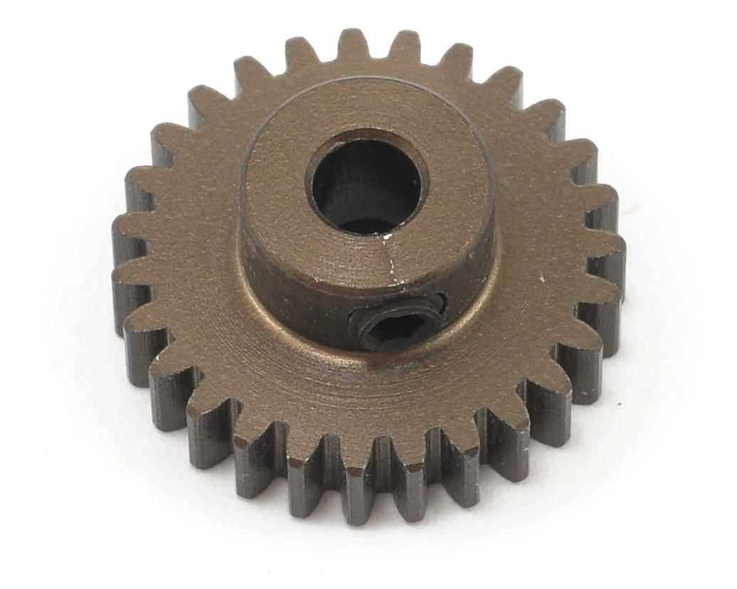 XRAY 48P Narrow Hard Coated Aluminum Pinion Gear (27T)