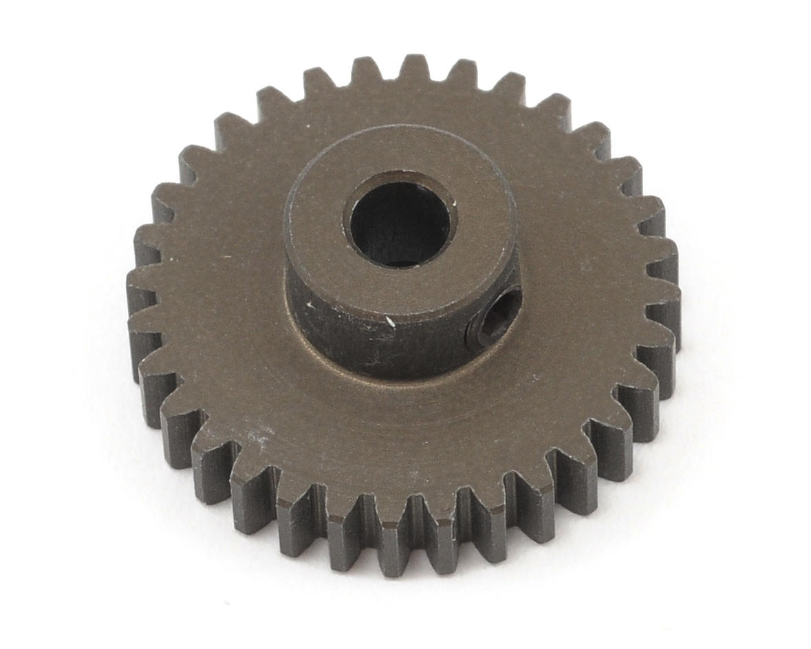 XRAY Aluminum 48P Narrow Hard Coated Pinion Gear (32T)