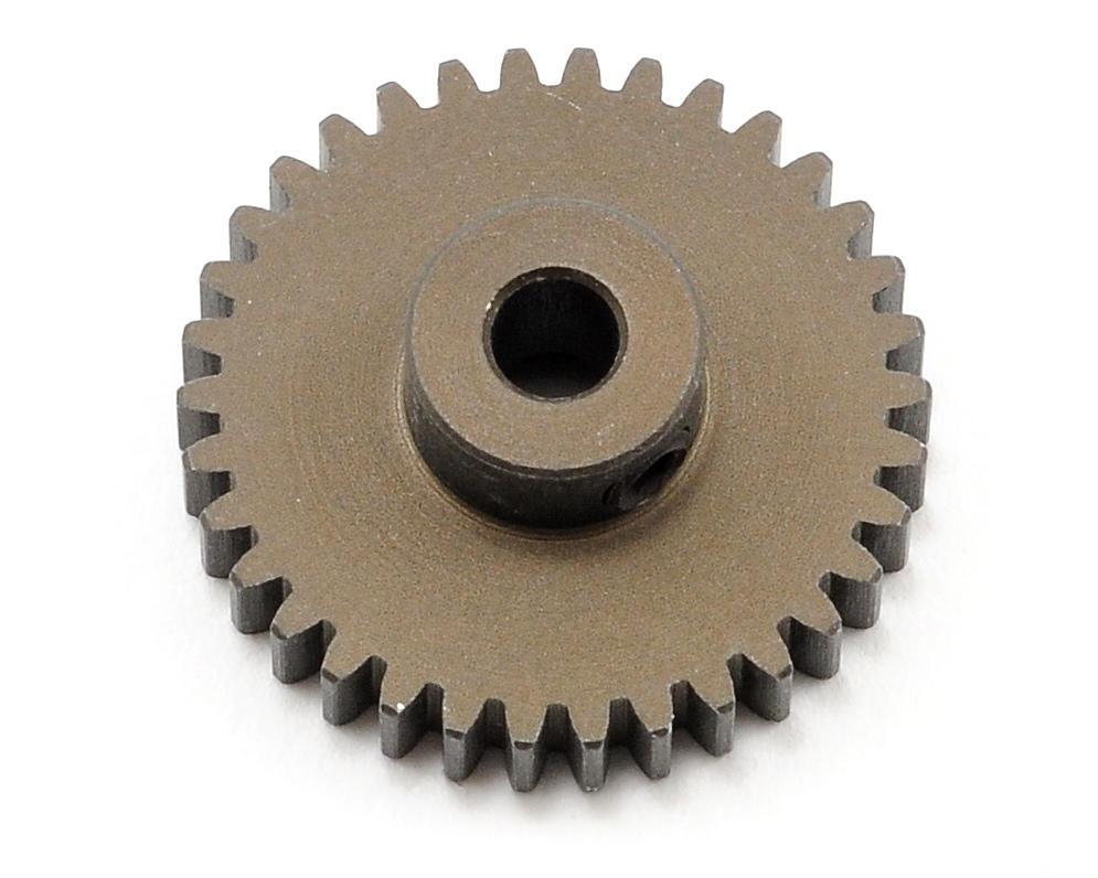 XRAY 48P Narrow Hard Coated Aluminum Pinion Gear (34T)