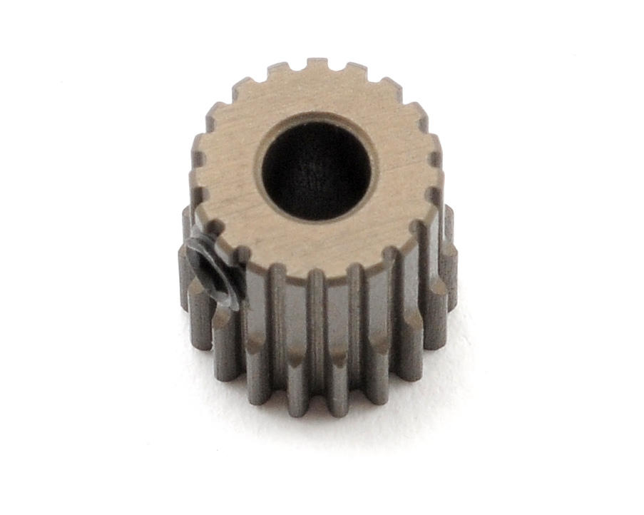 XRAY Aluminum 64P Narrow Hard Coated Pinion Gear (19T)