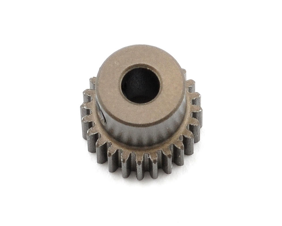 XRAY Aluminum 64P Narrow Hard Coated Pinion Gear (24T)