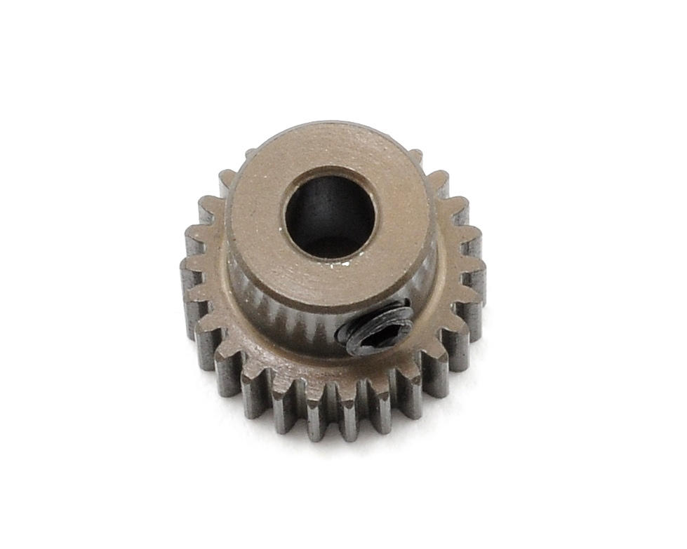 Aluminum 64P Narrow Hard Coated Pinion Gear (26T) by XRAY