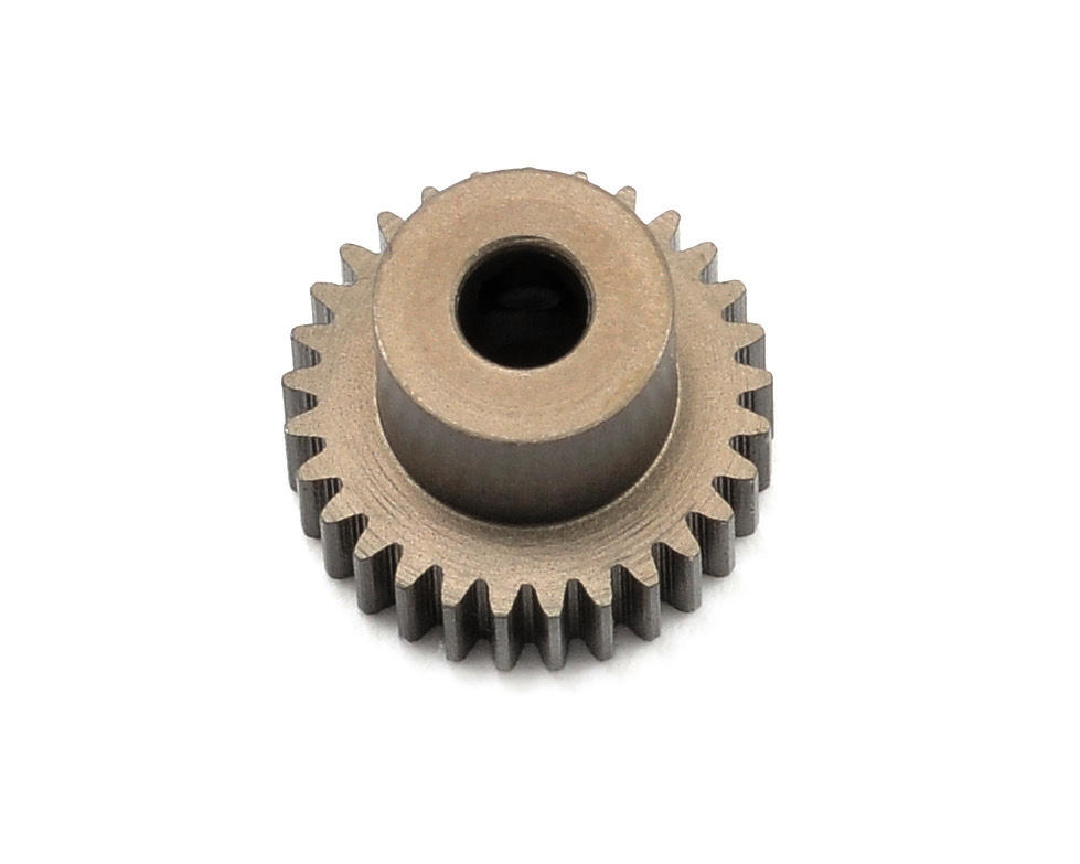 Aluminum 64P Narrow Hard Coated Pinion Gear (29T) by XRAY