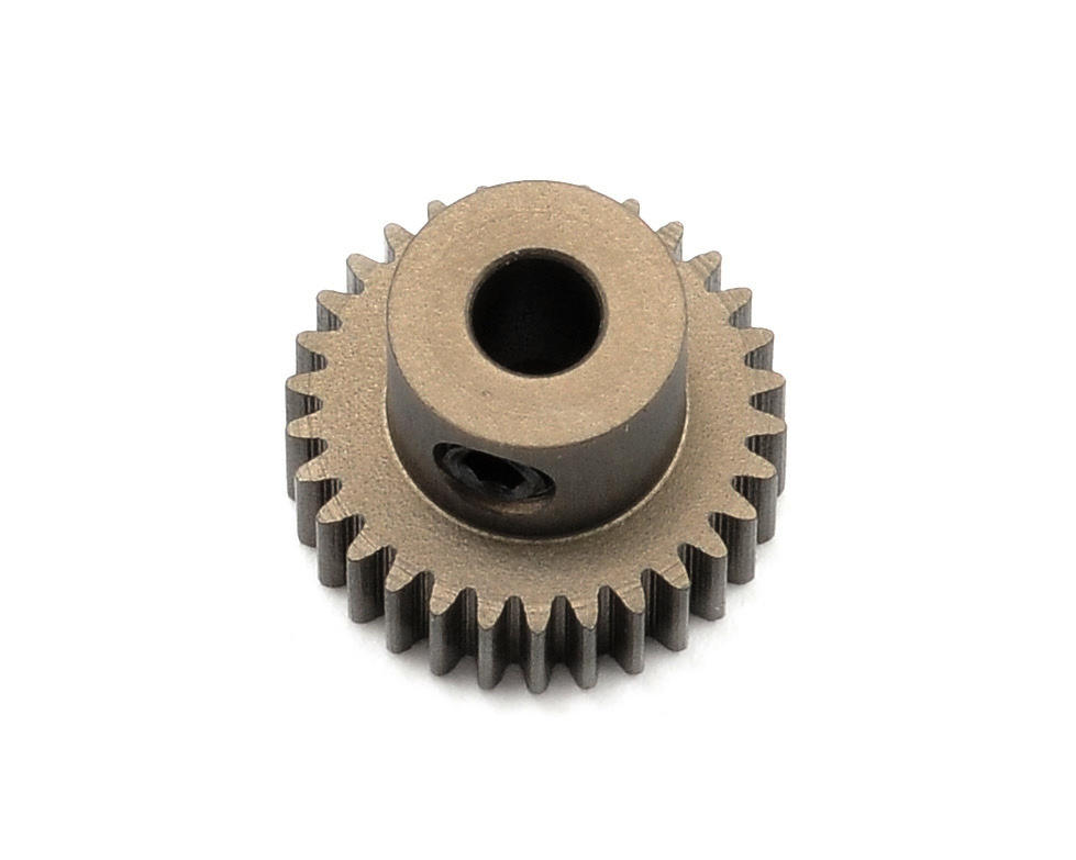 XRAY Aluminum 64P Narrow Hard Coated Pinion Gear (30T)