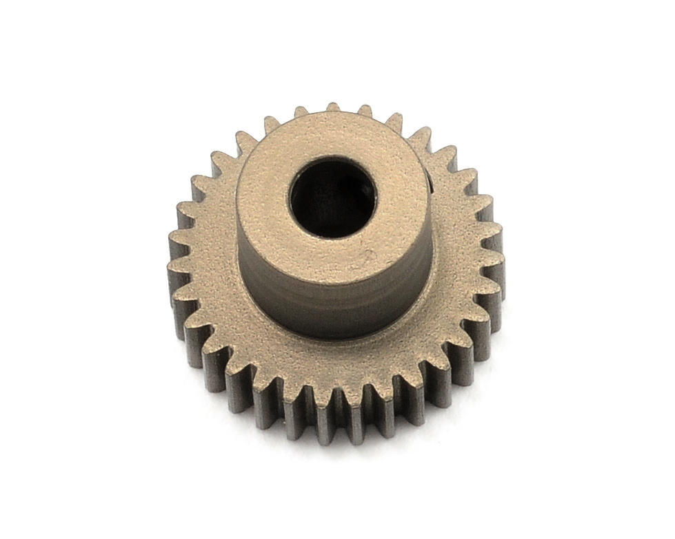 Aluminum 64P Narrow Hard Coated Pinion Gear (31T) by XRAY