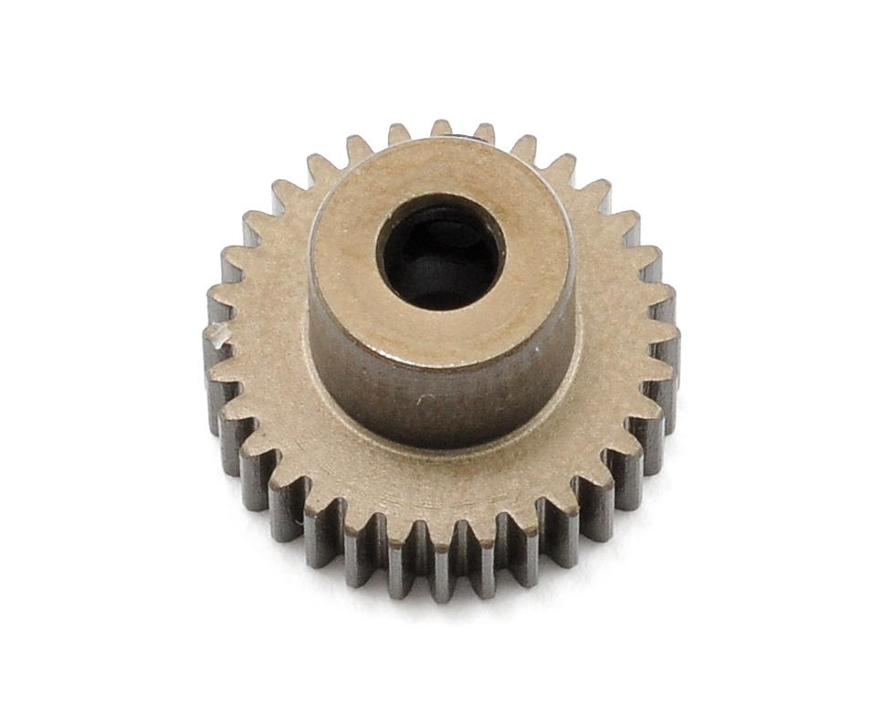 XRAY Aluminum 64P Narrow Hard Coated Pinion Gear (32T)