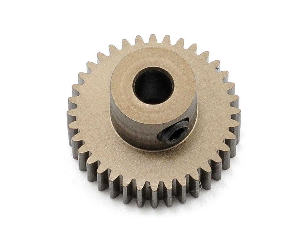 XRAY Aluminum 64P Narrow Hard Coated Pinion Gear (36T)
