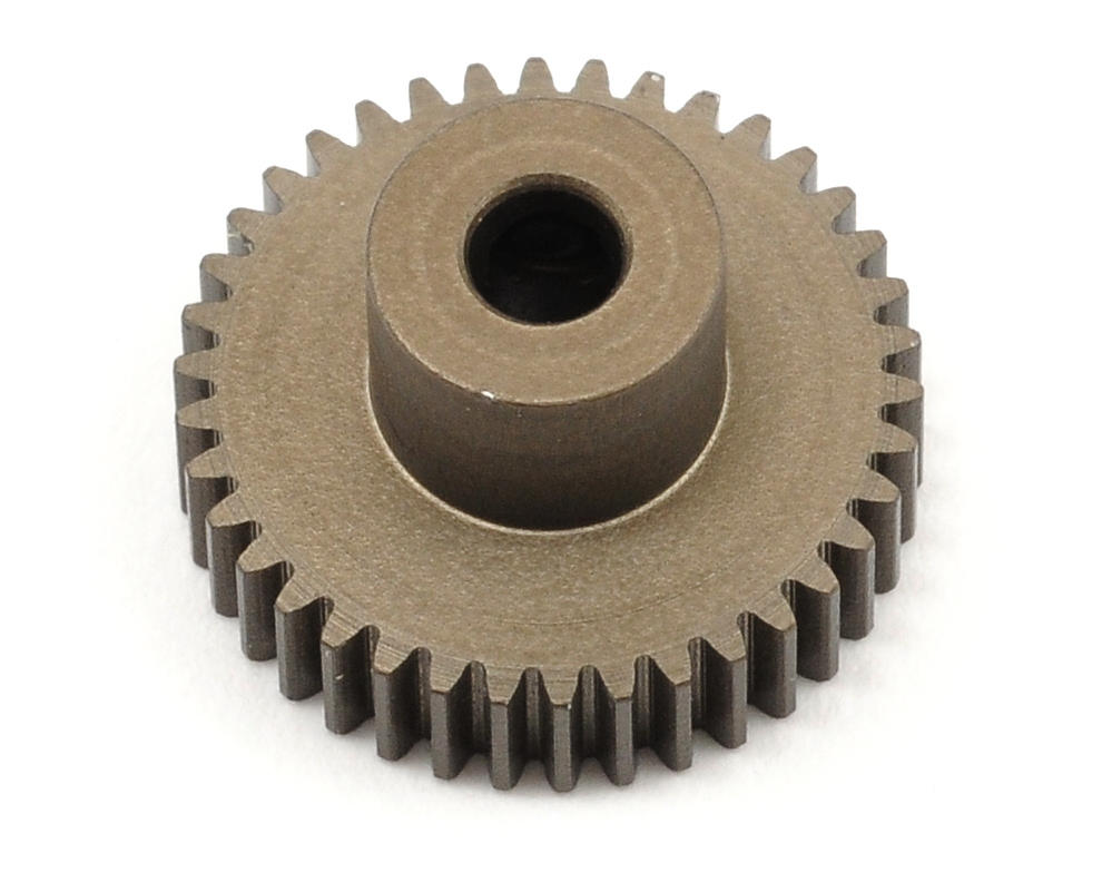XRAY Aluminum 64P Narrow Hard Coated Pinion Gear (38T)