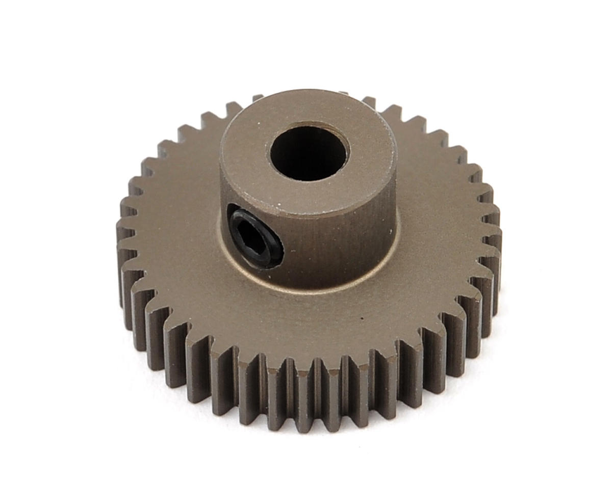 XRAY Aluminum 64P Narrow Hard Coated Pinion Gear (40T)