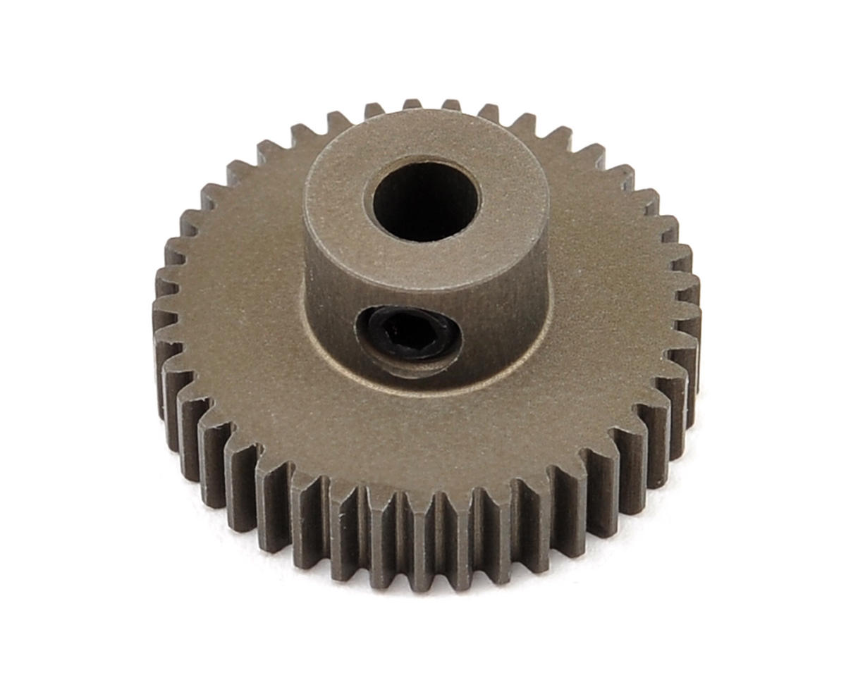 XRAY Aluminum 64P Narrow Hard Coated Pinion Gear (41T)