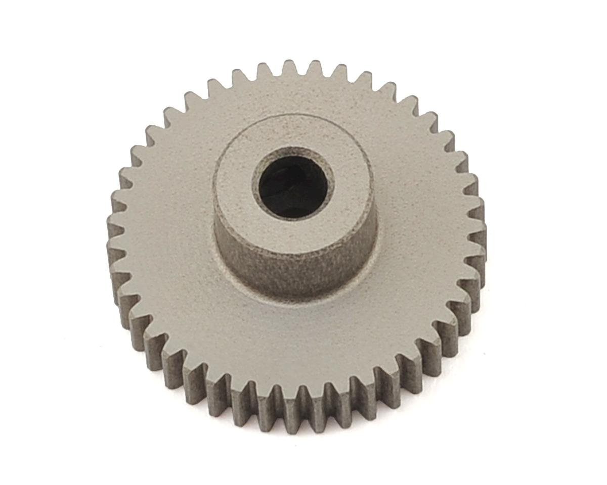 XRAY Aluminum 64P Narrow Hard Coated Pinion Gear (43T)