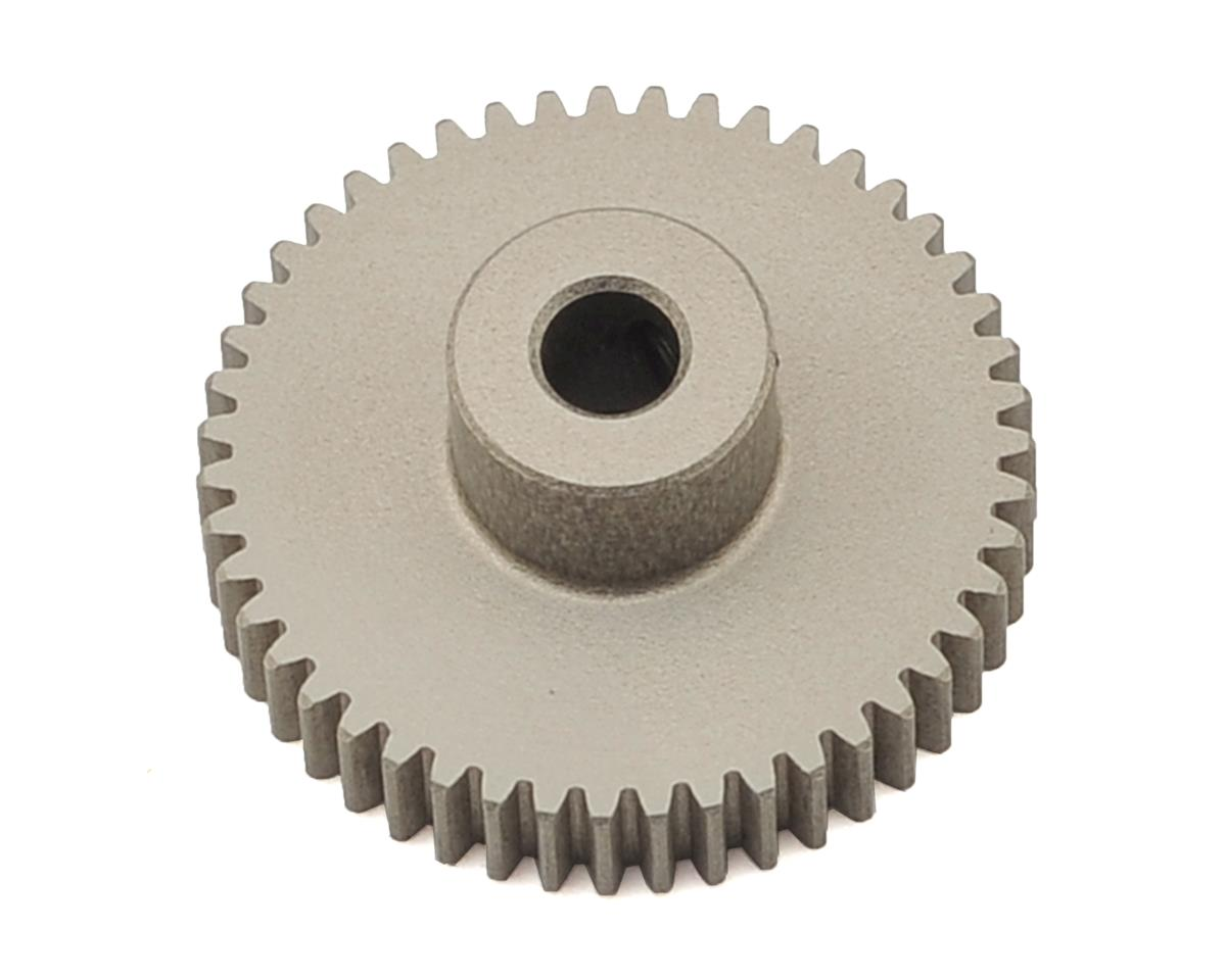 XRAY Aluminum 64P Narrow Hard Coated Pinion Gear (47T)