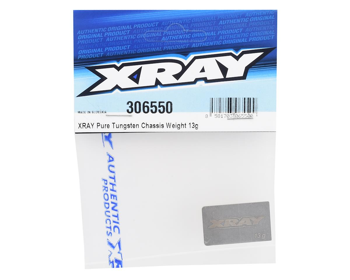 XRAY Pure Tungsten Chassis Weight (13g)
