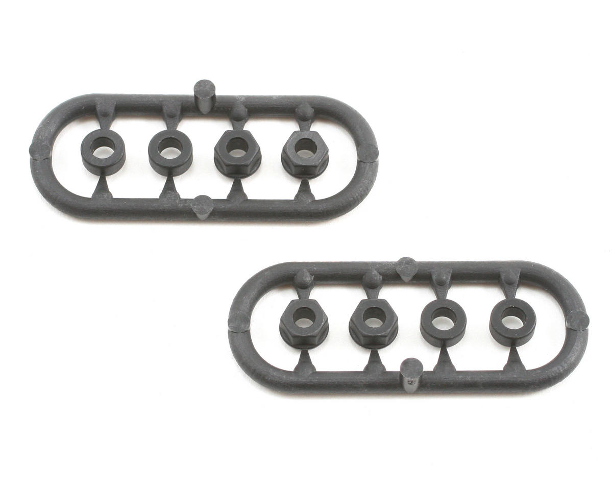 XRAY Composite Shock Shim & Nut Set (2)