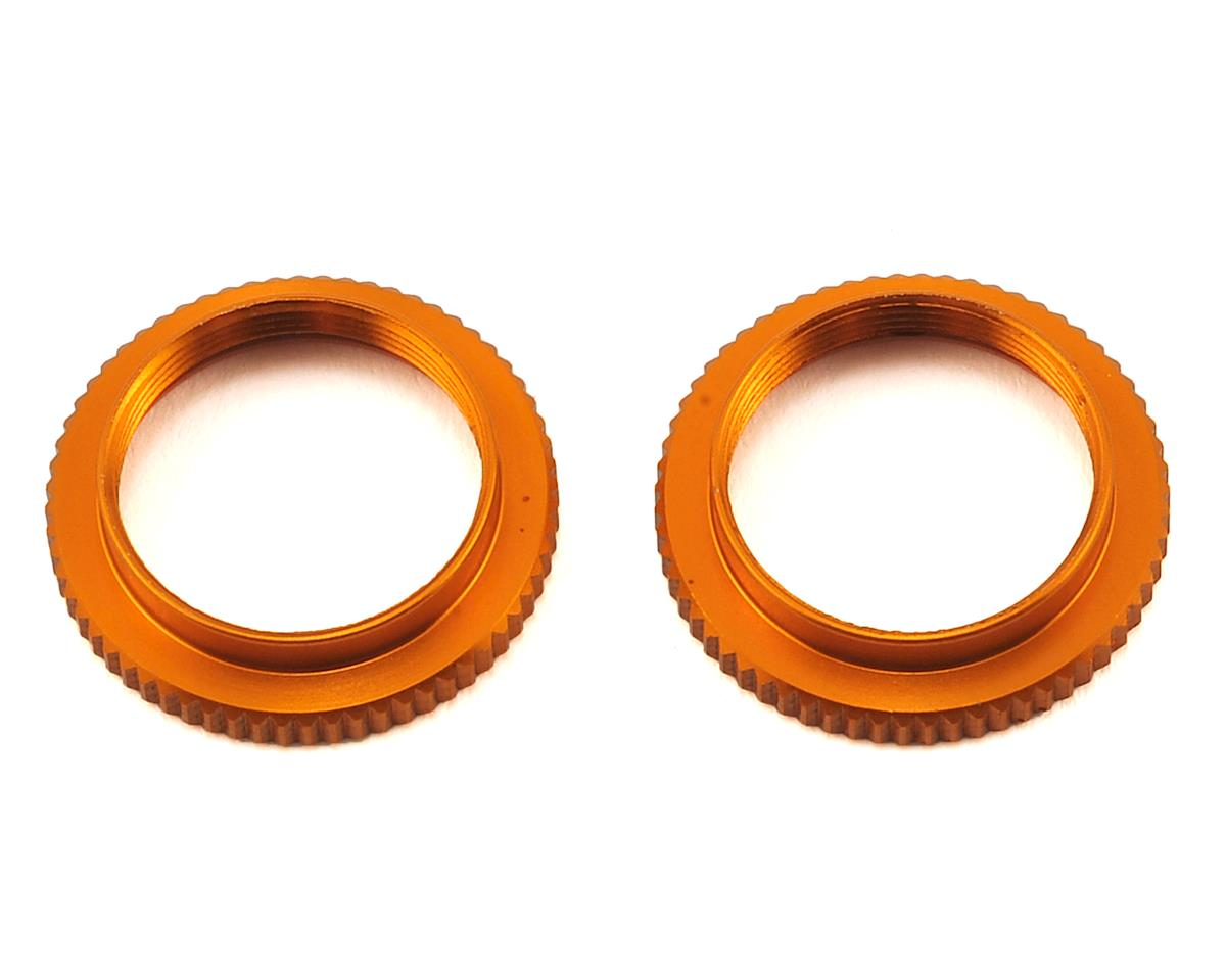 XRAY ULP Aluminum Shock Adjustable Nut (Orange) (2)