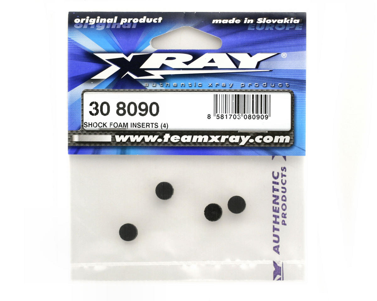 XRAY Shock Foam Inserts (4)