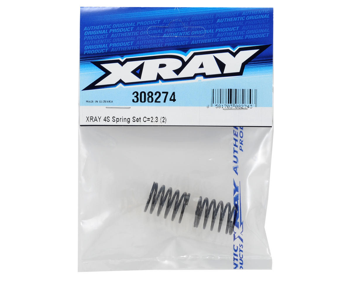 4S Spring Set C (2) (2.3) by XRAY