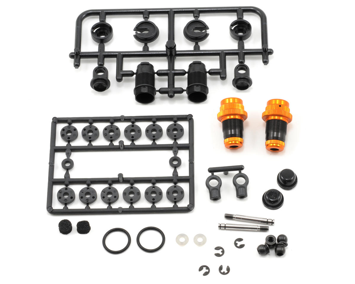 XRAY Aluminum Shock Absorber-Set (Orange) (2) (T2'008)