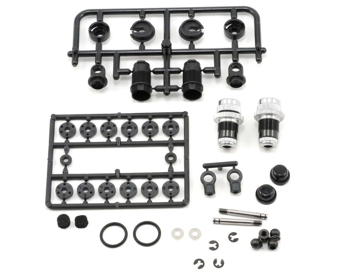 Aluminum 4-Step Shock Absorber Set (2) (T2'008) by XRAY